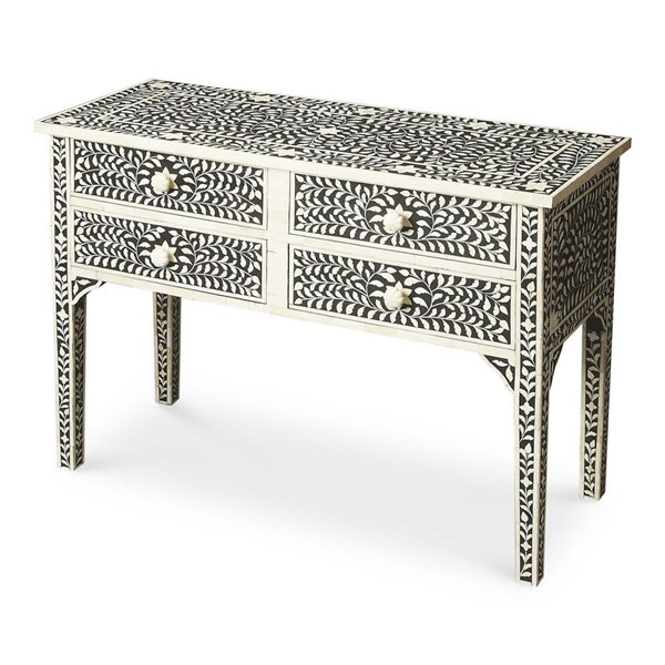 Butler Specialty Bone Inlay Vivienne Console Table BSF-1860070
