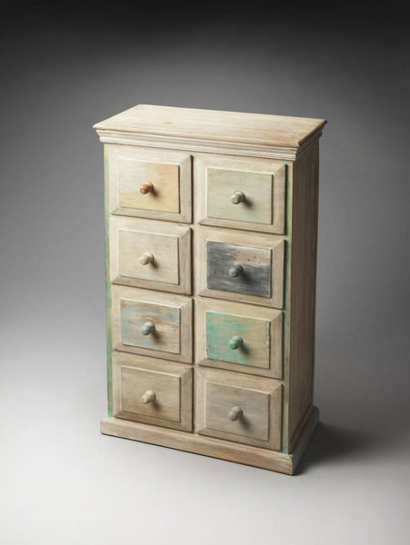 Artifacts Keller Transitional Painted Solidwood MDF Drawer Chest BSF-1891290