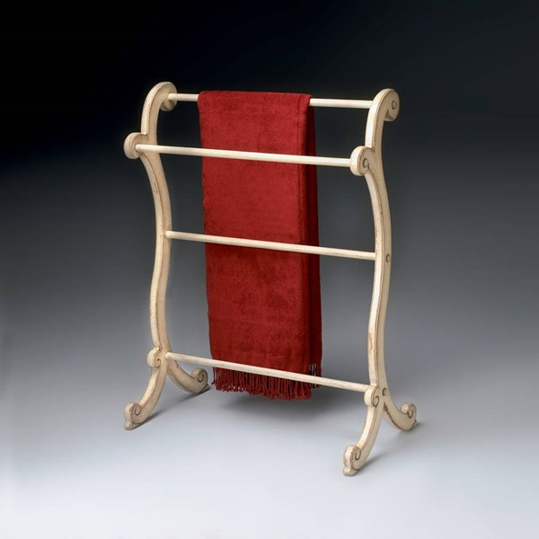 Artists Originals Brittany Traditional Parchment Beige Blanket Rack BSF-1934134