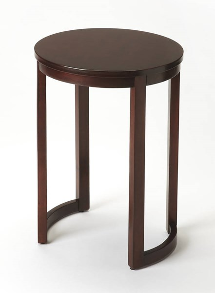 Butler Loft Chapman Transitional Brown Hardwood MDF Side Table BSF-2111024