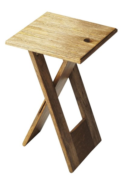Butler Specialty Loft Hammond Light Brown Folding Table BSF-2259140