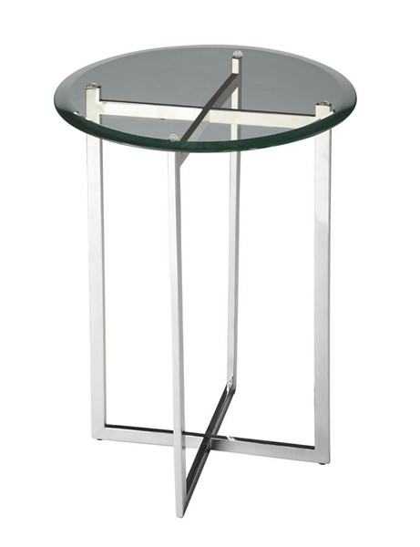 Butler Specialty Loft Silver Round Accent Table BSF-2385220