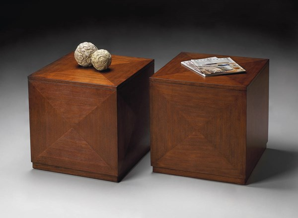 Transitions Summerlin Transitional Brown Chestnut Burl Bunching Cube BSF-2425108