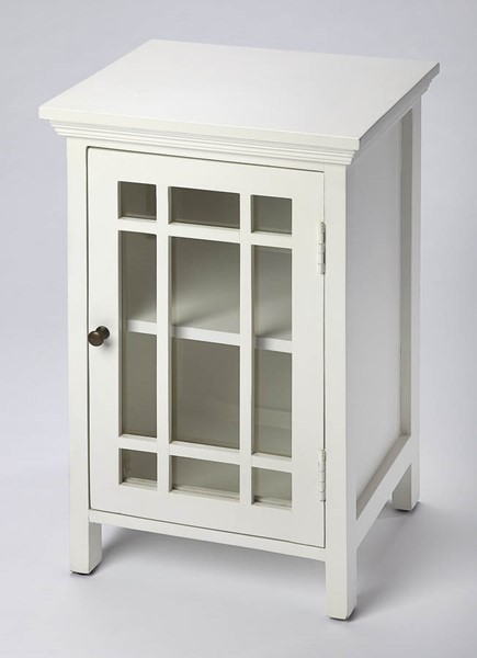 Butler Specialty Loft Baxter White Chairside Chest BSF-2771304