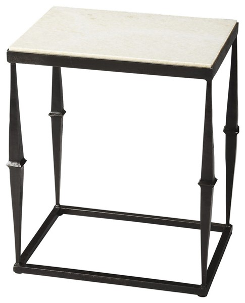 Butler Specialty Metalworks Marble Top Side Table BSF-2841025