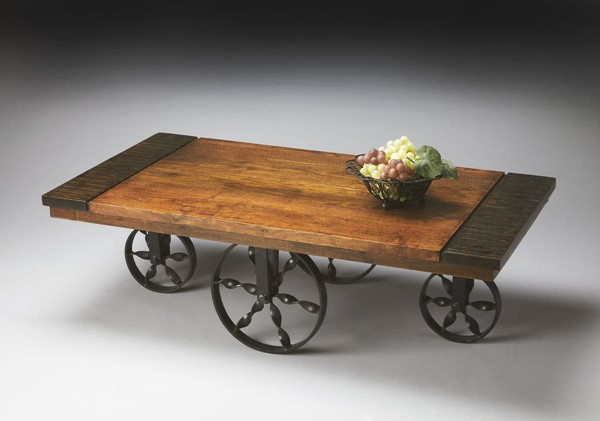 Butler Specialty Mountain Lodge Wagon Cocktail Table BSF-2854120