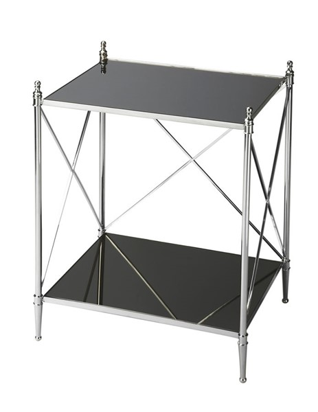 Butler Specialty Modern Expressions Mirror Top End Table BSF-2862220