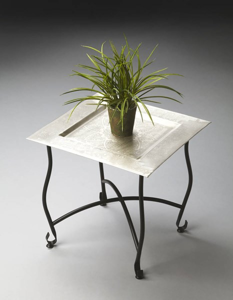 Metalworks Traditional Moroccan Nest Base Tray Table BSF-2867025