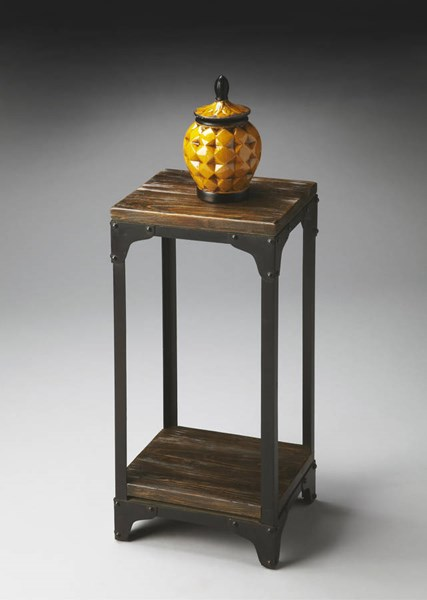 Industrial Chic Transitional Pedestal Stand BSF-2874120