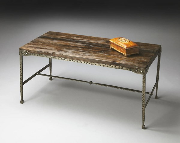 Butler Specialty Industrial Chic Rectangle Cocktail Table BSF-2884120