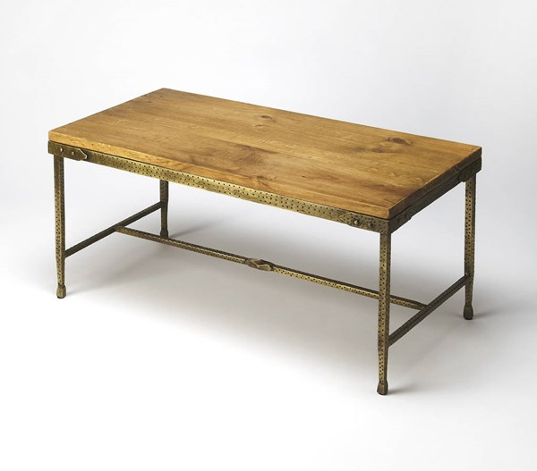 Butler Specialty Industrial Chic Gratton Cocktail Table BSF-2884330