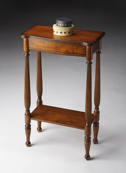 Masterpiece Whitney Transitional Brown Antique Cherry Console Table BSF-3011011