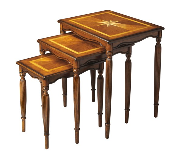 Butler Specialty Masterpiece Winifred Brown Nest Of Tables BSF-3021101