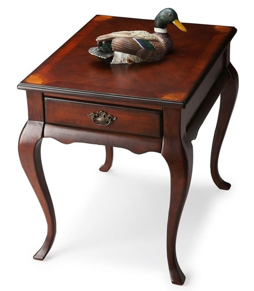 Butler Specialty Plantation Cherry Grace End Table BSF-3022024