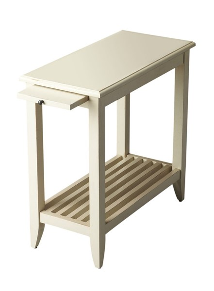 Butler Specialty Masterpiece Irvine White Chairside Table BSF-3025222