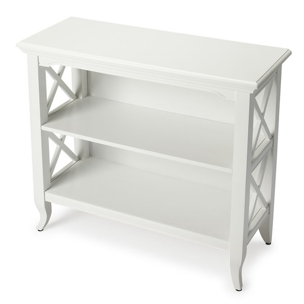 Butler Specialty Loft Newport White Low Bookcase BSF-3044304