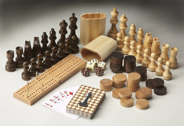 Masterpiece Transitional Carved Wood Game Pieces BSF-3051000