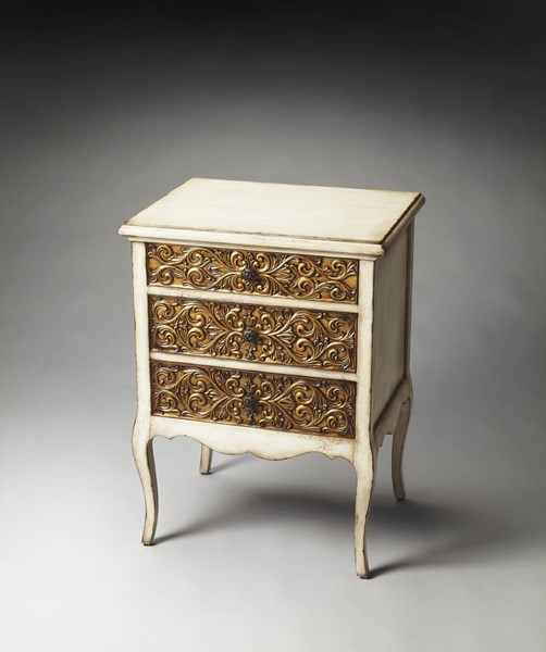 Heritage Seville Maple White Gold Gmelina Solids Resin Chest bsf-3107070