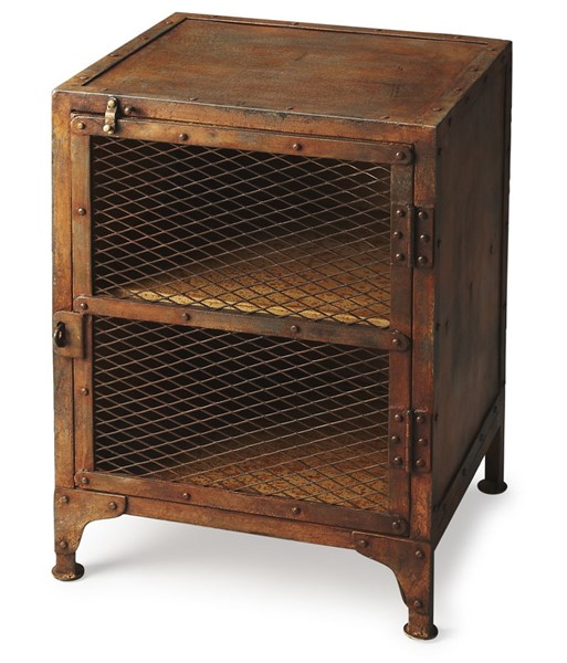 Butler Specialty Industrial Chic Lucas Chairside Chest BSF-3132025