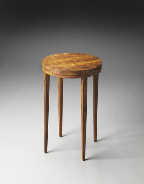 Butler Loft Cagney Modern Light Brown Sheesham Wood Accent Table BSF-3136140