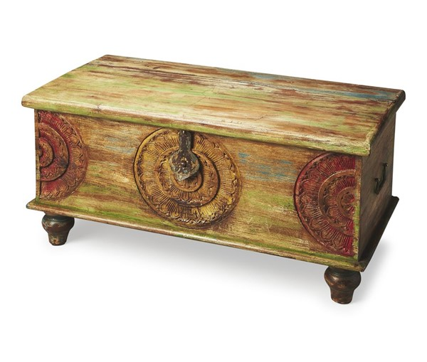 Butler Specialty Artifacts Mesa Trunk Cocktail Table BSF-3140290