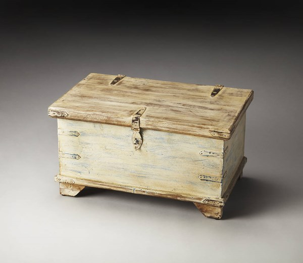 Hors D Oeuvres Hancock Transitional Beige Wood Storage Box bsf-3151016