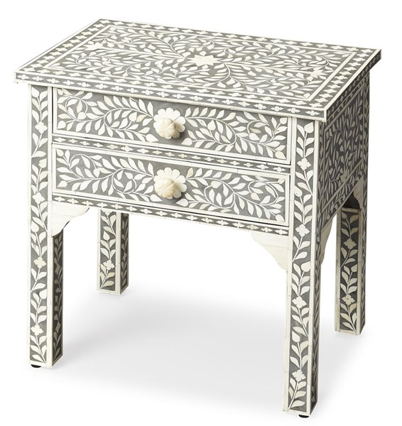 Butler Specialty Bone Inlay Vivienne Side Table BSF-3215070