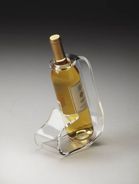 Hors D Oeuvres Crystal Clear Modern Acrylic Wine Bottle Stand BSF-3266016