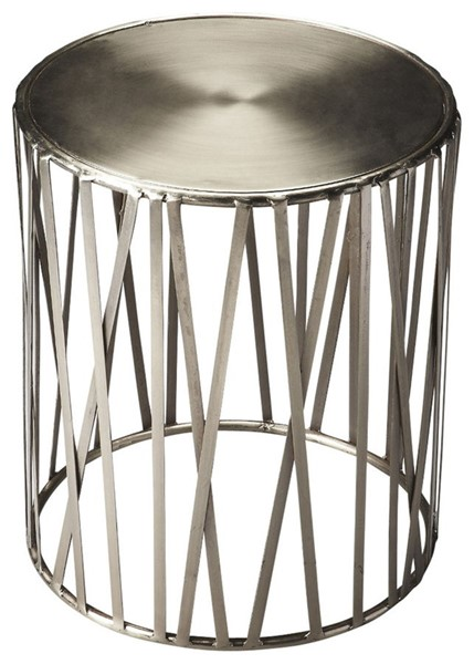 Butler Specialty Industrial Chic Kruse Drum Table BSF-3325025