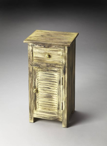 Artifacts Ambrose Transitional Solid Wood MDF Chairside Chest bsf-3345290