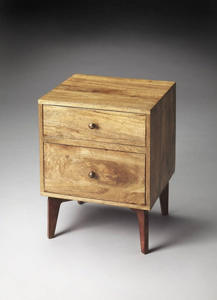 Butler Loft Nuance Modern Light Brown Solid Wood MDF Chairside Chest BSF-3347140