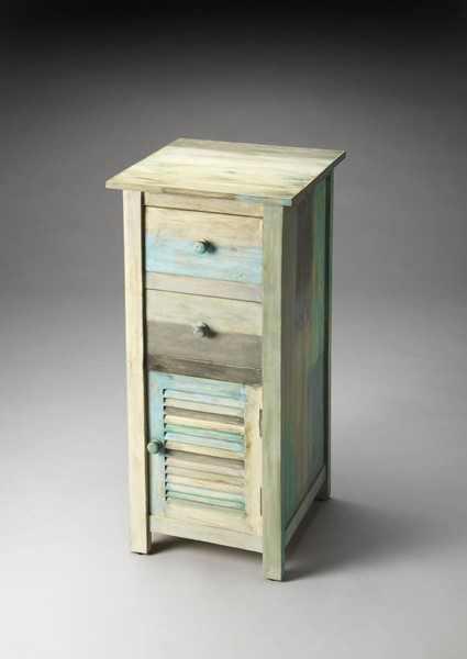 Artifacts Fiona Transitional Rustic Acacia Wood MDF Accent Chest bsf-3350290