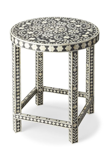 Butler Specialty Bone Inlay Wood Accent Table BSF-3448318