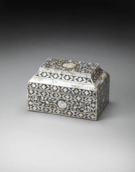 Hors D Oeuvres Traditional Black Eclectic Storage Box BSF-3469016