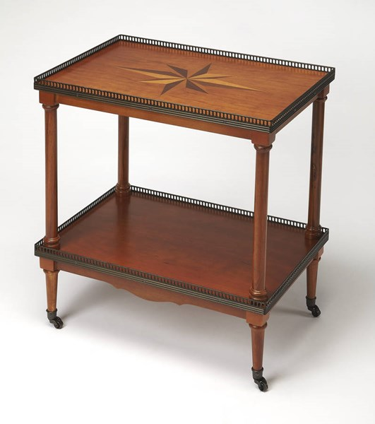 Butler Specialty Masterpiece Brown Side Table BSF-3609101