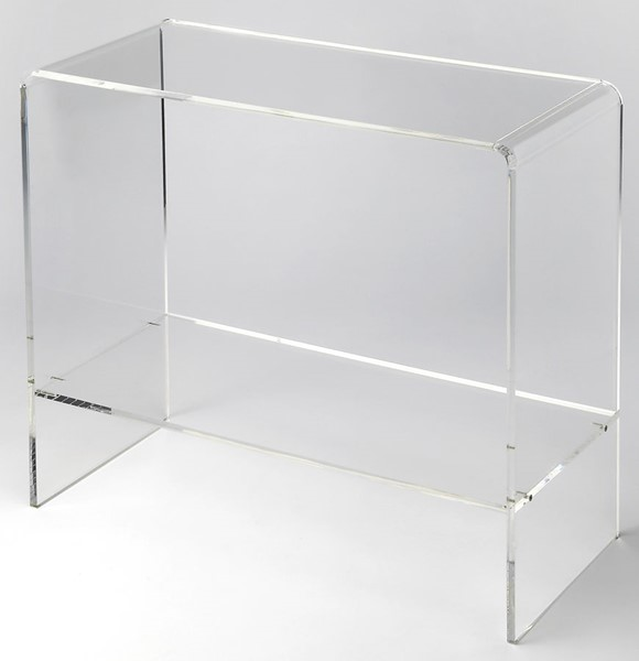 Butler Specialty Loft Crystal Clear Console Table BSF-3610335