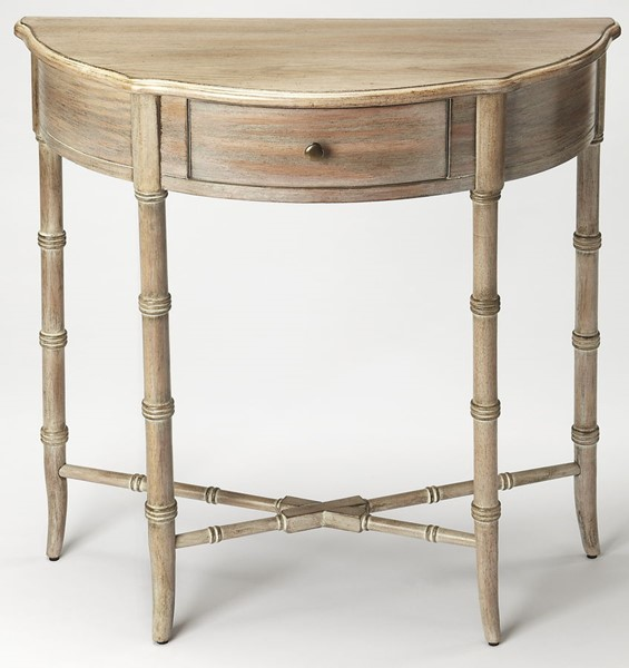 Butler Specialty Masterpiece Gray Demilune Console Table BSF-3623247