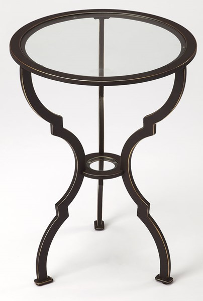 Butler Specialty Metalworks Round End Table BSF-3666025