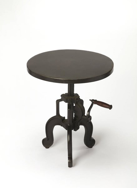 Butler Specialty Industrial Chic Black End Table BSF-3682330