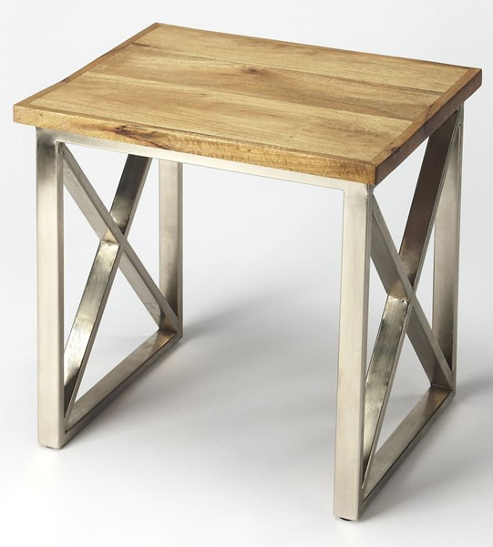 Butler Specialty Industrial Chic Rectangle End Table BSF-3683330