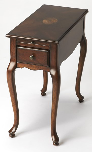 Butler Specialty Plantation Cherry Chairside Table BSF-3743024