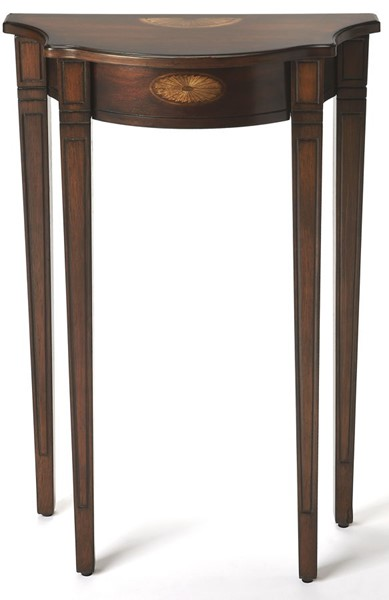 Butler Specialty Plantation Cherry Half Round Console Table BSF-3756024