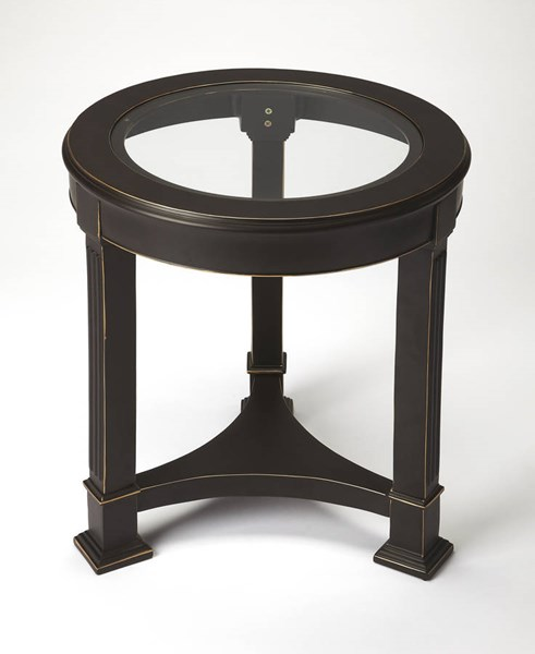 Butler Specialty Metalworks Glass Top End Table BSF-3820025
