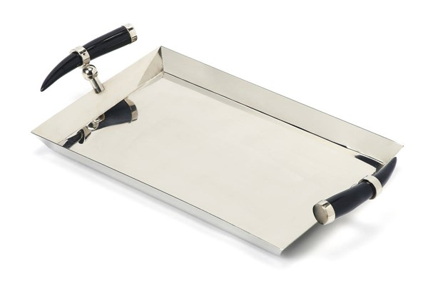Butler Specialty Hors Doeuvres Horn Handle Serving Tray BSF-3826016