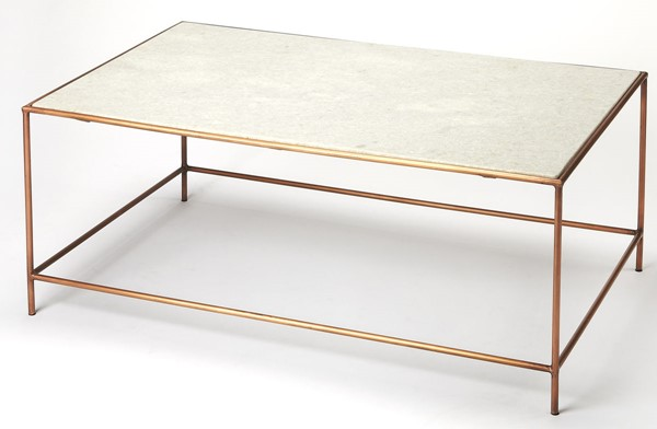 Butler Specialty Loft Marble Top Cocktail Table BSF-3871389