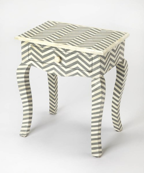Butler Specialty Bone Inlay End Table BSF-3882321