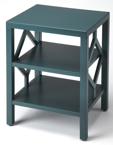 Butler Specialty Loft Halcyon Teal End Table BSF-3954140