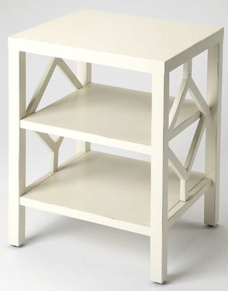 Butler Specialty Loft Halcyon White End Table BSF-3954288