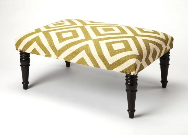 Butler Specialty Accent Seating Beige Cocktail Ottoman BSF-3957984