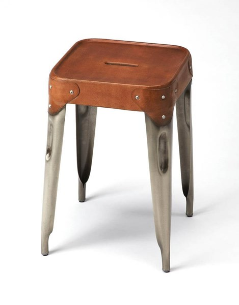 Butler Specialty Industrial Chic Brown Counter Stool BSF-3964344